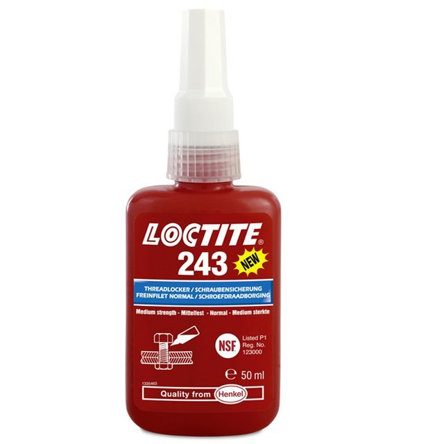 Loctite 243 Super Nut Lock Threadlocker