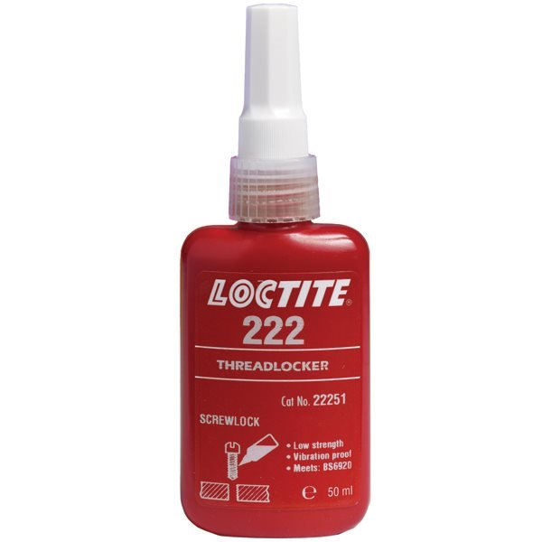 Loctite 222 Super Screw Lock Threadlocker